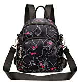 Women Backpack Simple Totes Purse Anti-Theft Fashion Casual Lightweight Travel School Shoulder Bag
