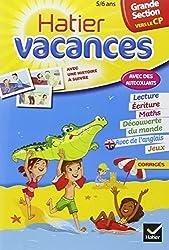 Cahier de vacances de la Grande Section vers le CP