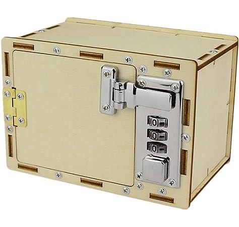 Silverline 534361 Caja de Seguridad con combinación de 3 dígitos, Azul: Amazon.es: Bricolaje y herramientas