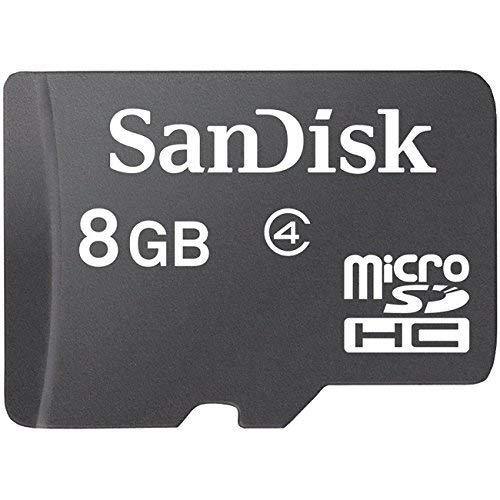 8GB 8 GB SanDisk MicroSDHC / MicroSD Memory Card for LG, BlackBerry, Motorola, Nokia, Samsung, Sony Ericsson Cell Phone