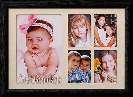 Amazon.com - 7x10 GREAT GRANDKIDS ~ Multi-Collage Portrait Picture ...