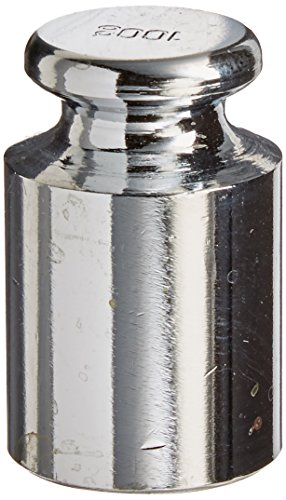 American Weigh Scales Calibration Weight for AWS Digital Scale, Carbon Steel, Chrome Finish, 50G