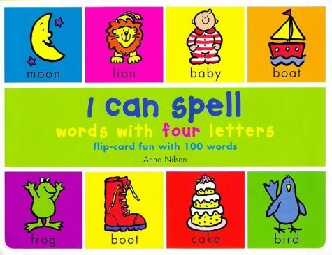 I Can Spell Words with Four Letters (Spanish Edition) by Anna Nilsen (1999-02-11) (I Can Spell compare prices)
