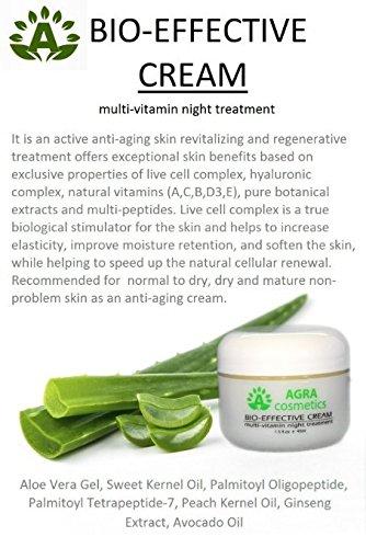 Price comparison product image AGRA Cosmetics® Bio-Effective Night Cream 1.5 Fl.Oz.