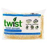 Twist, Loofah Sponges, 2 Pack - 3PC
