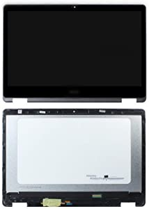 """FirstLCD Touch LCD Screen Replacement for Acer Aspire R15 R5-571TG-57YD R5-571TG-7229 R5-571TG-78G6 R5-571TG-50RF Digitizer Glass LED Display Panel Assembly 15.6"""" FHD (with Bezel;No digitizer Board)"""
