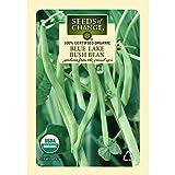 Seeds of Change 01479 Certified Organic Bean, Blue Lake Bush