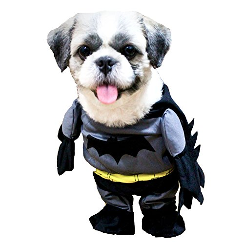Funny Dog Coat Superhero Batman