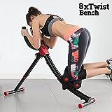 Aparato máquina de abdominales Pro vientre plana Abdo Smart Core Fitness Slim 8x Twist