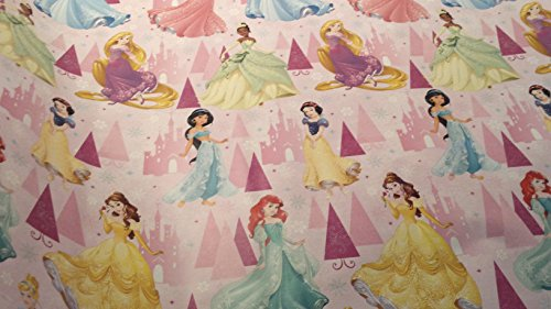 Homemade Tiana Costume (Christmas Wrapping Princess Holiday Paper Gift Greetings Sleeping Beauty Belle Cinderella Tiana 1 Roll Design Festive Wrap Disney Dress)