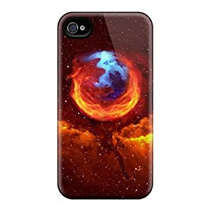 Durable Defender Cases For Iphone 6 Covers(space Mozilla)