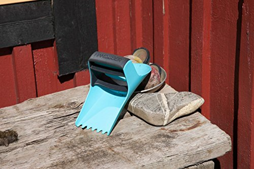 Multipurpose Garden Hand Trowel Reinvented the Ergonomic Pain-Free Shovel Perfect for Gardeners with Rheumatoid Arthritis Lifetime (Turquoise )