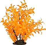 ELIVE 1419 034335 Glow Elements Ludwigia Plant, 9''/Large, Tangerine