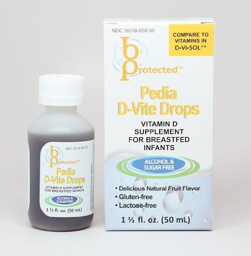 Pedia Vitamin D-Vite Drops 1 2/3 fl Ounce Liquid