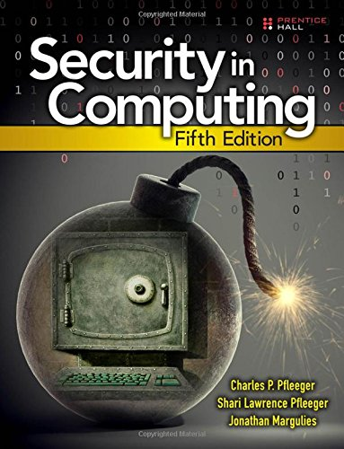 Security in Computing (5th Edition) by Prentice Hall