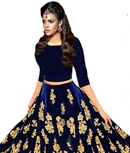 Aarna Enterprise Women s Heavy Tapeta Silk Embroidered Black Floor length  Anarkali Suit Dress Material Gown New Collection Skater One Piece Dress For  Women ... f97c27e63