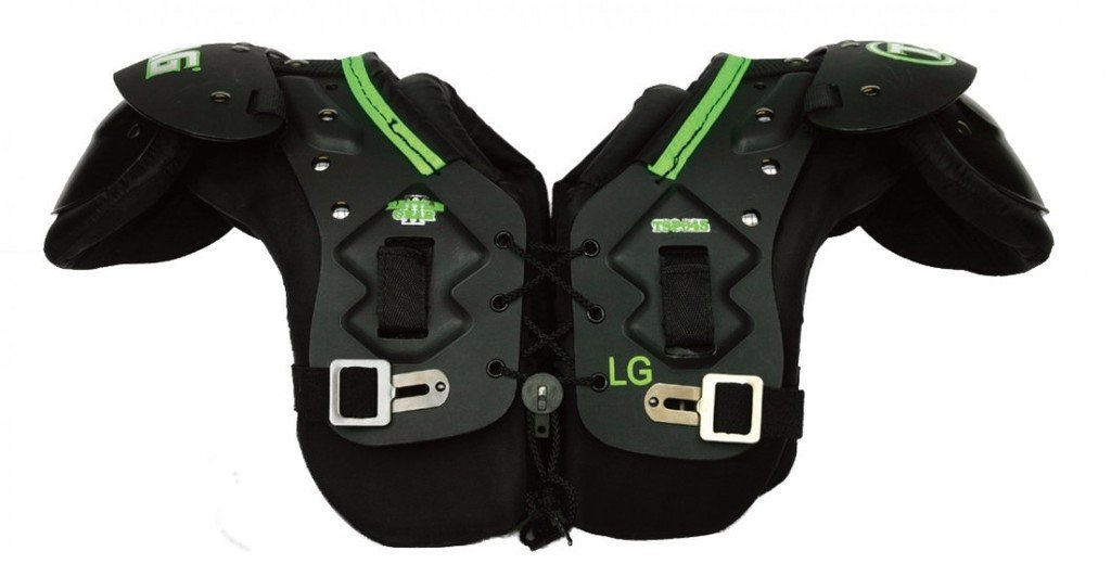 TAG Battle Gear II Youth Football Shoulder Pad TSP45 (T-Hook Lockdown Side Strap) 2X-Large