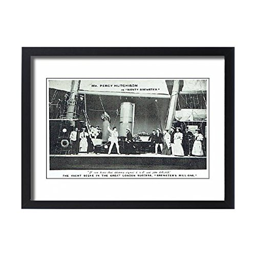 Framed 24x18 Print of Brewsters Millions by Winchell Smith and Byron Ongley (14409130)