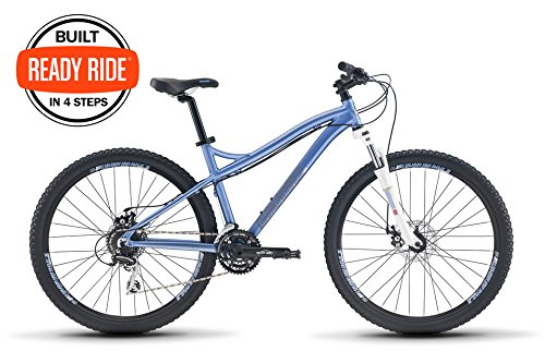 "Diamondback Bicycles Lux 1 27.5 Womens Hardtail Mountain Bike, Blue, 17""/Medium"