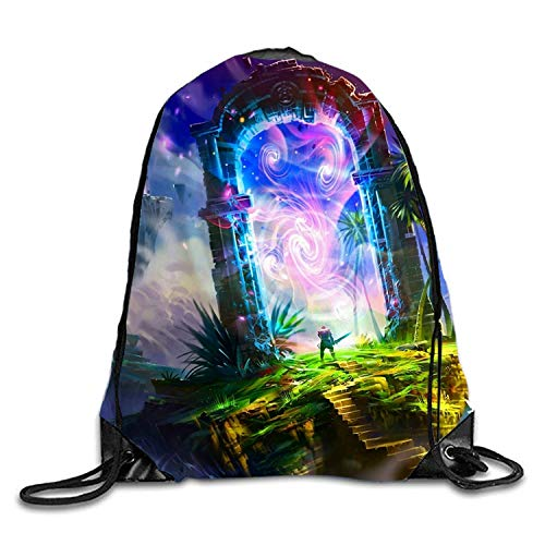 Fantasy Land Gym Bag Gym Sack Bag Drawstring Backpack Sport Hipster Style Bag by AyxjlSv