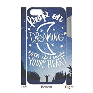 Custom Keep on dreaming Case for Iphone 4,4S with Your heart yxuan_3725498 at xuanz