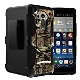 Untouchble Case for G Stylo Holster Case | G Stylus Case| LG Stylo Case [Heavy Duty Clip] Dual Layer Rugged Hybrid Armor [Kickstand] [Swivel Holster] - Real Hunter Camo