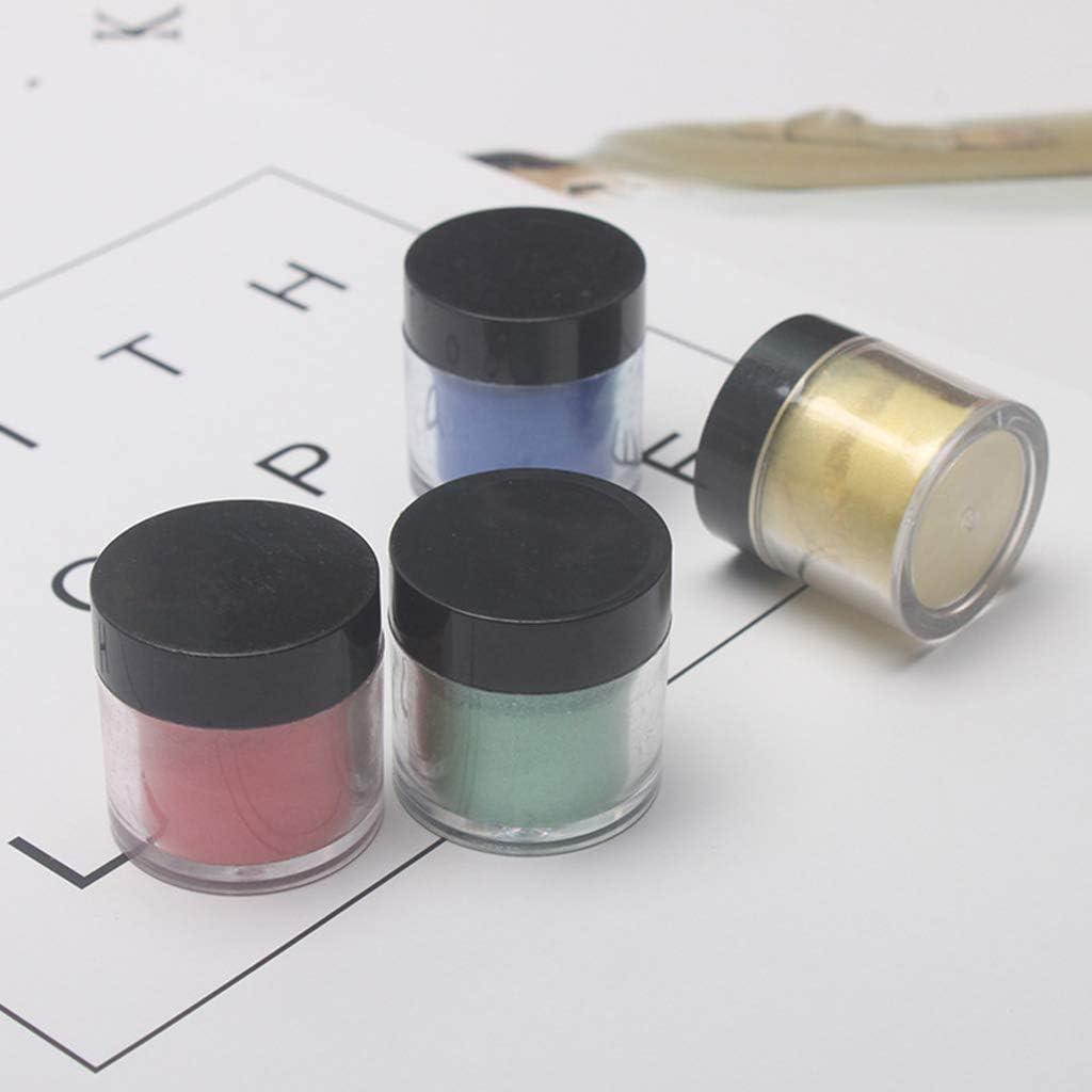 ZKM 9 Unids//Set Pigmento de Mica Nacarado Polvo de Perlas Resina UV Cristal Epoxy Craft DIY Fabricaci/ón de Joyas Slime Toning Color Highlight Glitter