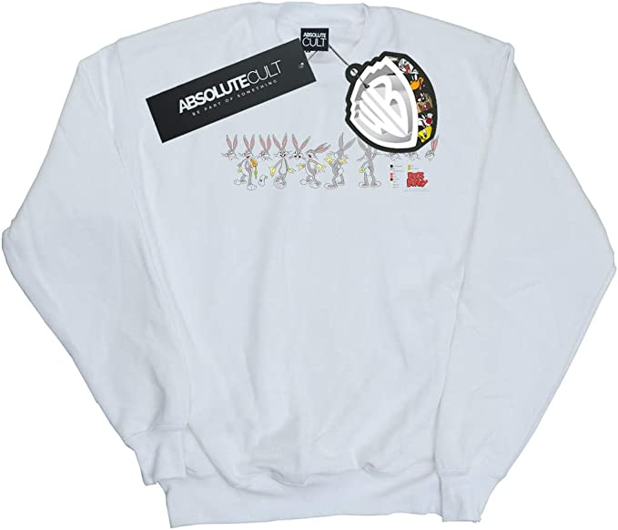 Amazon.com: Absolute Cult Looney Tunes Mens Bugs Bunny ...