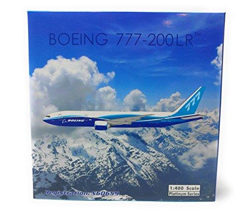 Phoenix Wings Boeing 777 200Lr  Blue House Livery  N60659 1 400 Scale Part Number Ph4boe1732