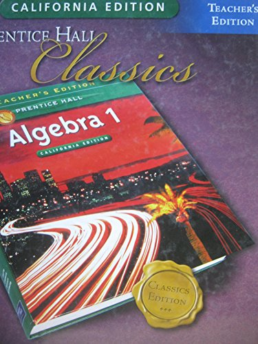 prentice hall classics algebra 1 - 8