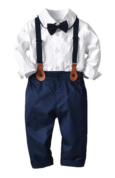 Amazon.com: Conjunto de traje para bebés y niños, con diseño ...