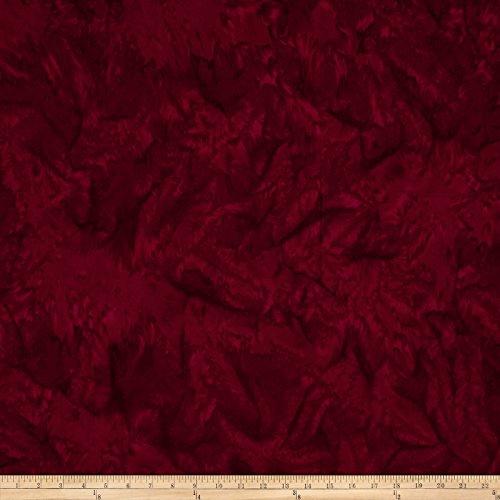 Hoffman Bali Batik Watercolors Garnet Fabric by The Yard -