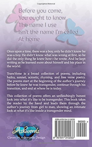 TransVerse: Poetry About Being Transgender