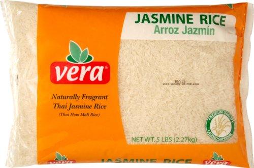 Vera Jasmine Rice, 5 Pound (Pack of 6) by Vera