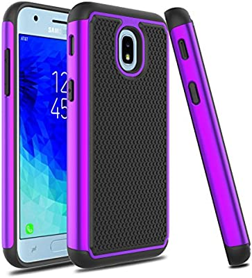 Good 2-layer Case Samsung Sm J337 J337p J337a Galaxy J3 Amp Prime 3 Achieve Star 2018 Cell Phones & Accessories