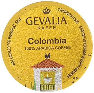Gevalia Colombia K-Cups,12-Count Box, (Pack of 3) [RETAIL PACKAGING]