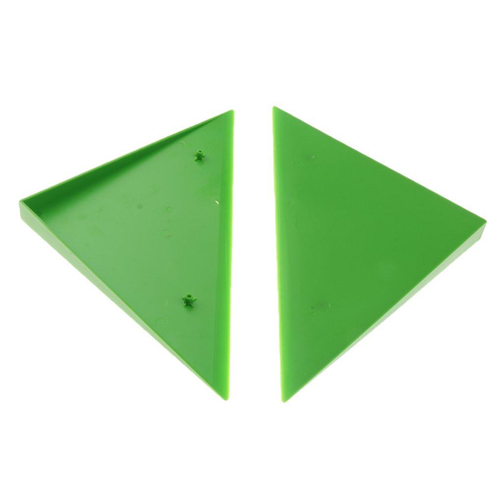 Homyl 2pcs Coin Traingle Bord Protection De Table Machine De Baby-Foot Foosball Table Triangle Corner