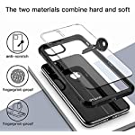 MOBIKTC Back Case Cover Oppo A54 [TPU Smartphone Back Case Cover Shock Proof]-Transperent Black…