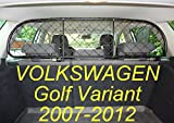Dog Guard, Pet Barrier Net and Screen RDA65-S for Volkswagen Golf Estate, car model produced from 2007 to 2012, for Luggage and Pets For Sale