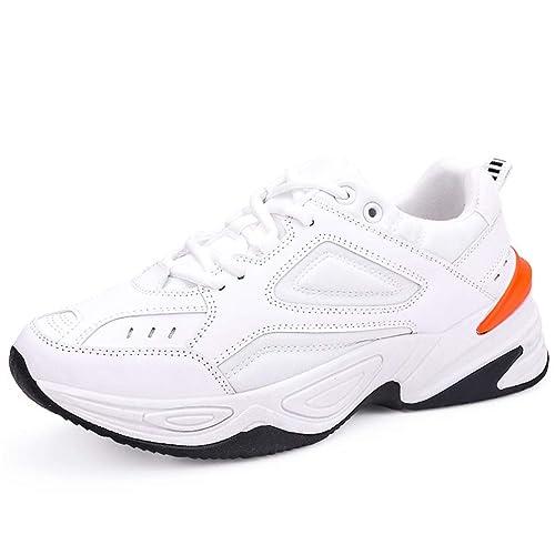 Homme Chaussure de Sport Outdoor de Course Jogging Running Léger Chaussure  Basket Mode en Casual Tendance 4bbf359545b