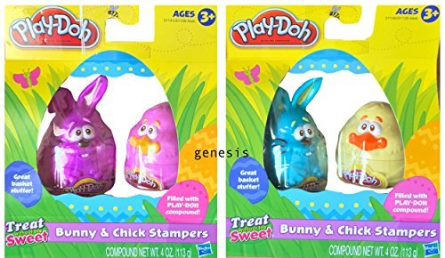 Play-Doh Easter Bunny & Chick Stampers Great Basket Stuffer]()