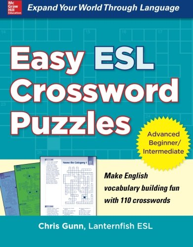 Esl Language Game (Easy ESL Crossword Puzzles)