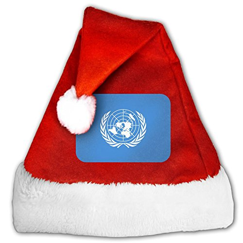 ODLS7 United-Nations Christmas Gifts Hats Santa Hats Fashion Holiday Home Party Decorations For Kids (United Nation Costume For Adults)