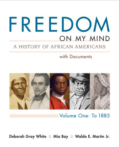Free ebook freedom on my mind a history of african americans with freedom on my mind a history of african americans with documents vol 1 to 1885 fandeluxe Image collections