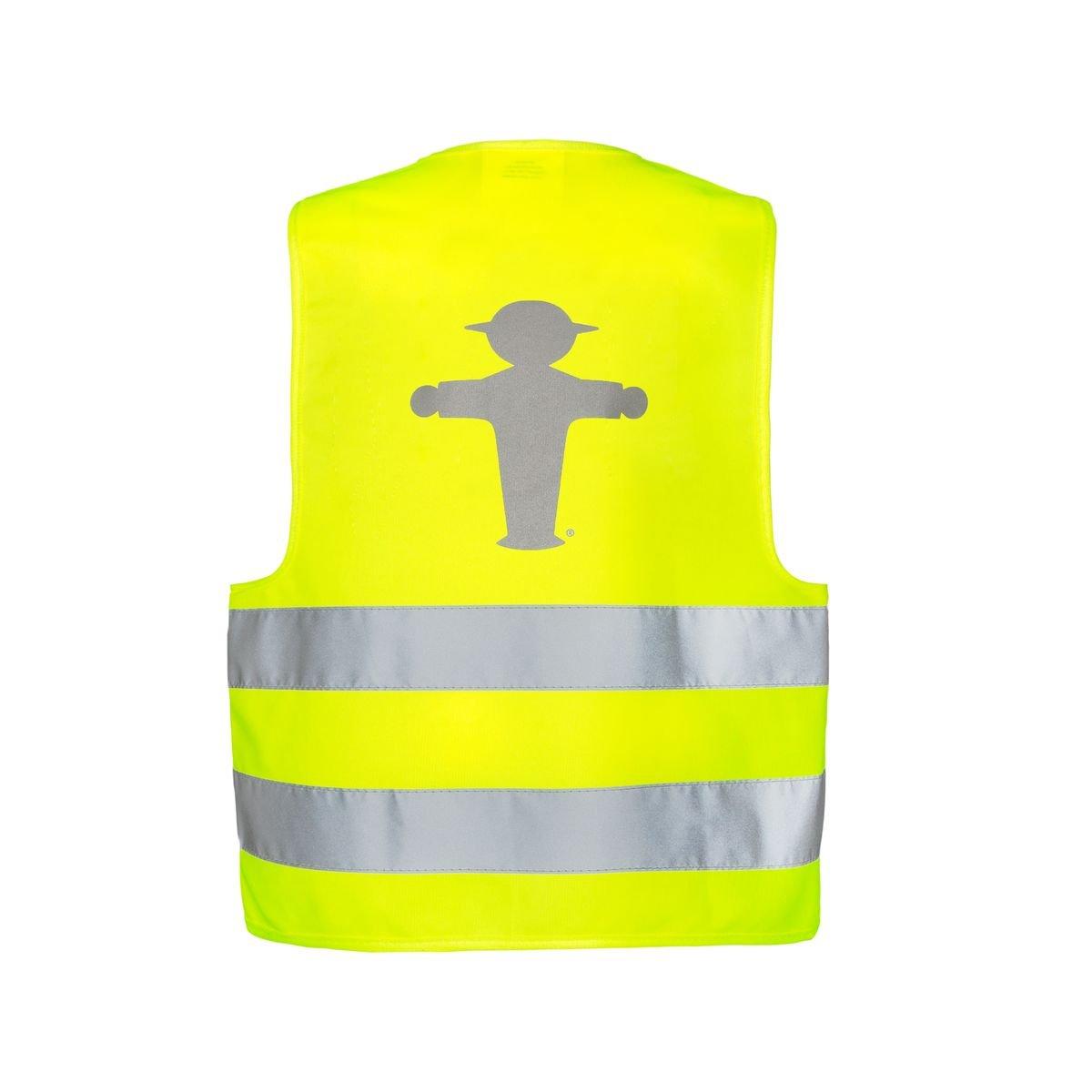 AMPELMANN Warnweste Unfallweste Pannenweste Kinder Erwachsene Sch/ülerlotse L