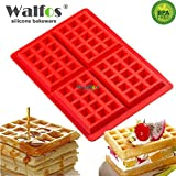kitchenaid portable dishwasher - 1 piece WALFOS Waffles Cake Pan Silicone Mold Baking Mould Cooking Tools Kitchen Accessories Supplies silicone Baking Dishes & Pans