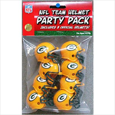Riddell 9585533012 Green Bay Packers Team Helmet Party Pack -