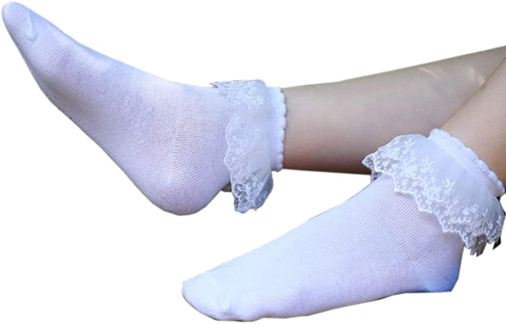 6 Pairs SYAYA Women Comfortable No-Show Cotton Ankle Socks Solid Color WWZ33