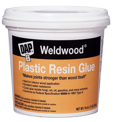 Dap 00203 Weldwood Plastic Resin Glue, 1-Pound -
