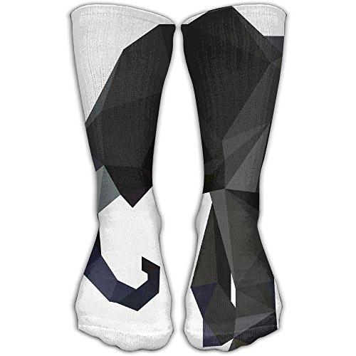 Black Elephant Women & Men Socks Knee High Long Soccer Sport Tube Stockings Length (Chicago Medical Journal)